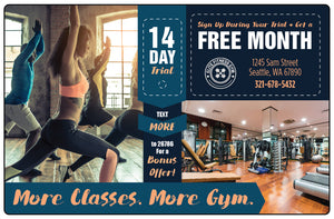 Gym and Fitness Marketing  |  More Classes; More Gym