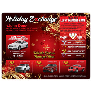 Holiday eXchange Buyback | Automotive Direct Mail Marketing