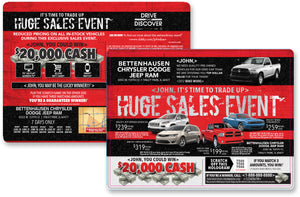 Huge Sales Event Buyback Campaign | Automotive Direct Mail Marketing