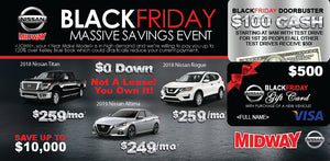 Plastic Black Friday Buyback | Automotive Direct Mail Marketing