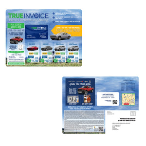 True Invoice | Automotive Direct Mail Marketing