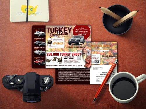 Turkey Shoot Buyback | Automotive Direct Mail Marketing