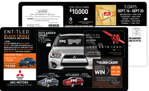Orange is the Black Friday Buyback | Automotive Direct Mail Marketing