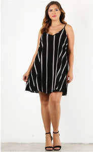 Striped Relaxed Dress