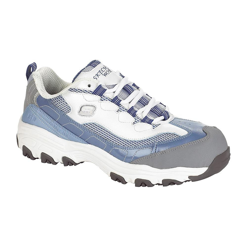 Skechers Steel-Toe Shoes for Women.  Get the D'Lite S R Service from Cromwell Shoes at Pearlridge Shopping Center in Honolulu, Hawaii, Oahu.  We carry the widest variety of Steel Toe Shoes with styles similar to Work Shoe Hawaii.