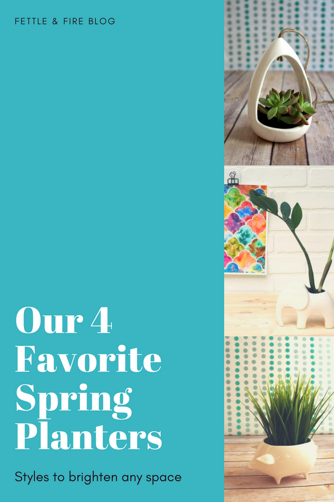 Our 4 Favorite Spring Planters!