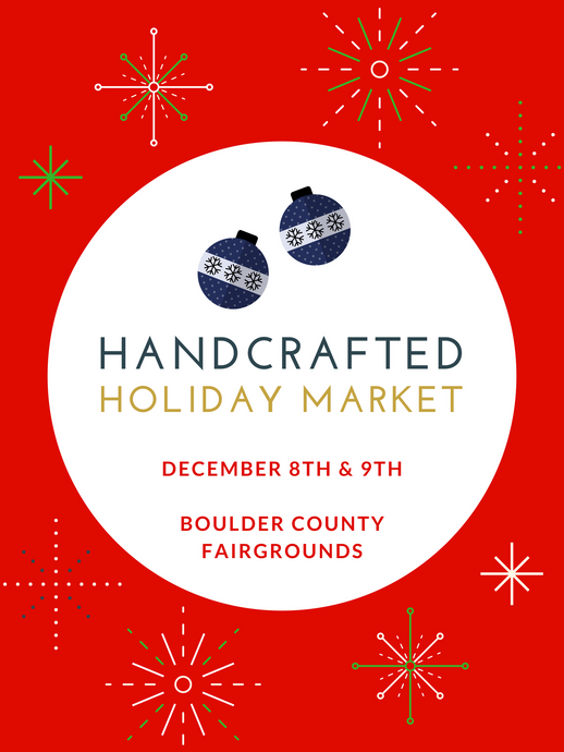 Handcrafted Holiday Market Announcement!!
