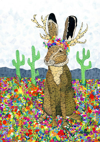 Springtime Jackalope by Science Stories