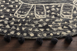 Wild Ones - 10 Charcoal - WORLD OF RUGS
