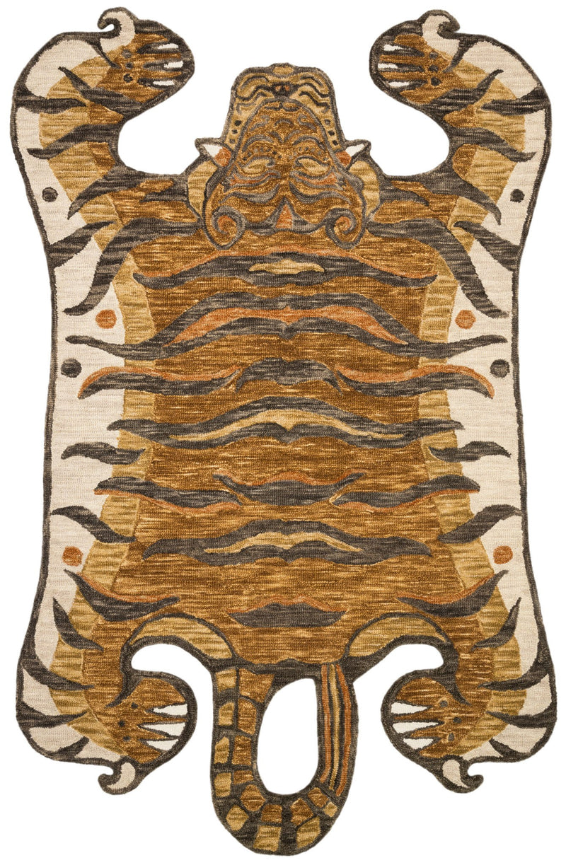 Wild Ones - 02 Gold - WORLD OF RUGS