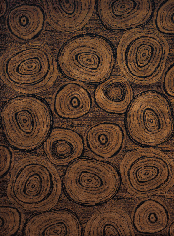 Forest - 07 Tree Rings - WORLD OF RUGS
