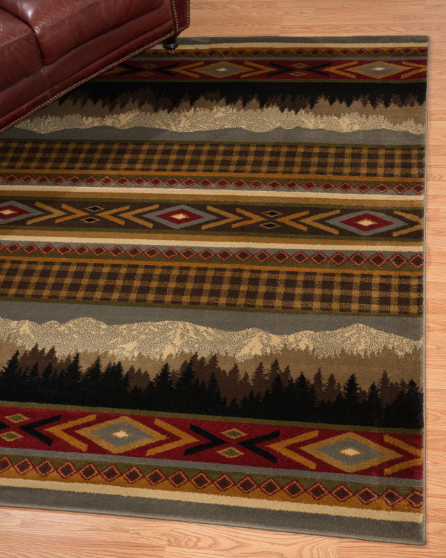 Forest - 08 Mountains - WORLD OF RUGS
