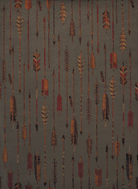 Forest - 09 Arrows Blue/Grey - WORLD OF RUGS