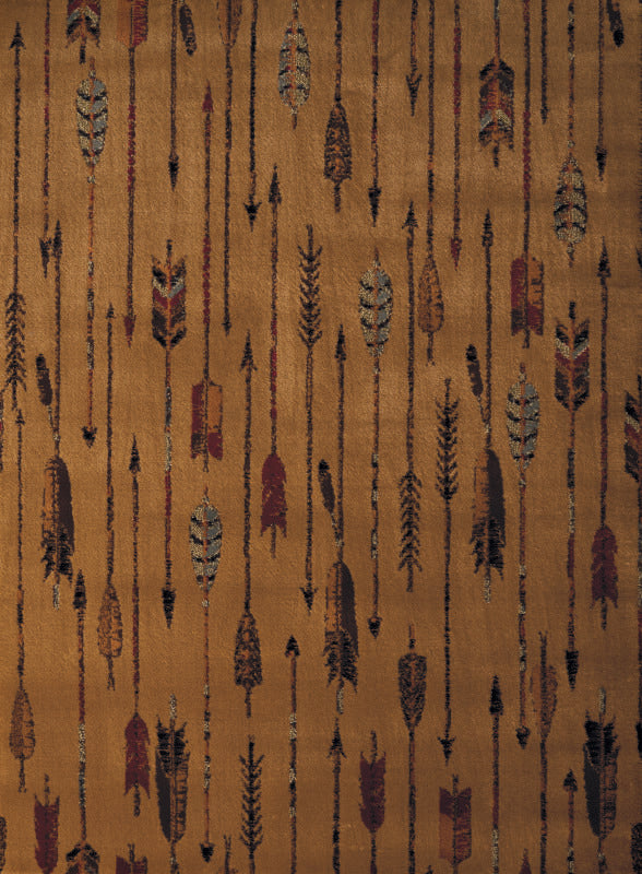 Forest - 09 Arrows Brown - WORLD OF RUGS