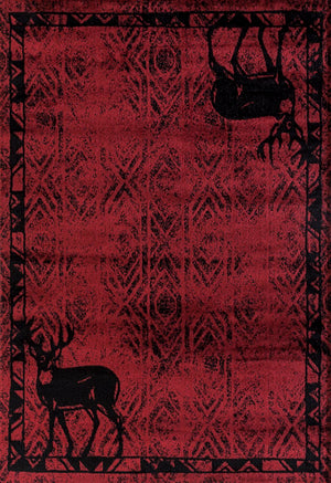 Forest - 17 Buck Red - WORLD OF RUGS