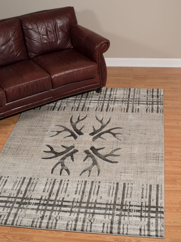 Woods - 71 Silver Antler - WORLD OF RUGS