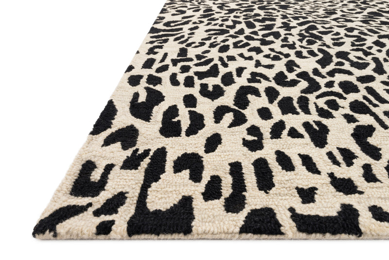 Wild Ones - 21 Black / Ivory - WORLD OF RUGS