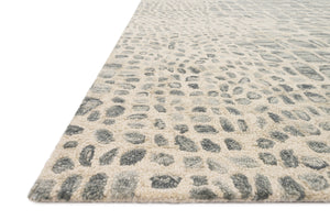 Wild Ones - 22 Silver Grey / Ivory - WORLD OF RUGS