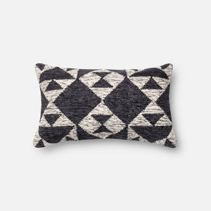 Arroyo - P0098 Charcoal / Ivory - Pillow - WORLD OF RUGS