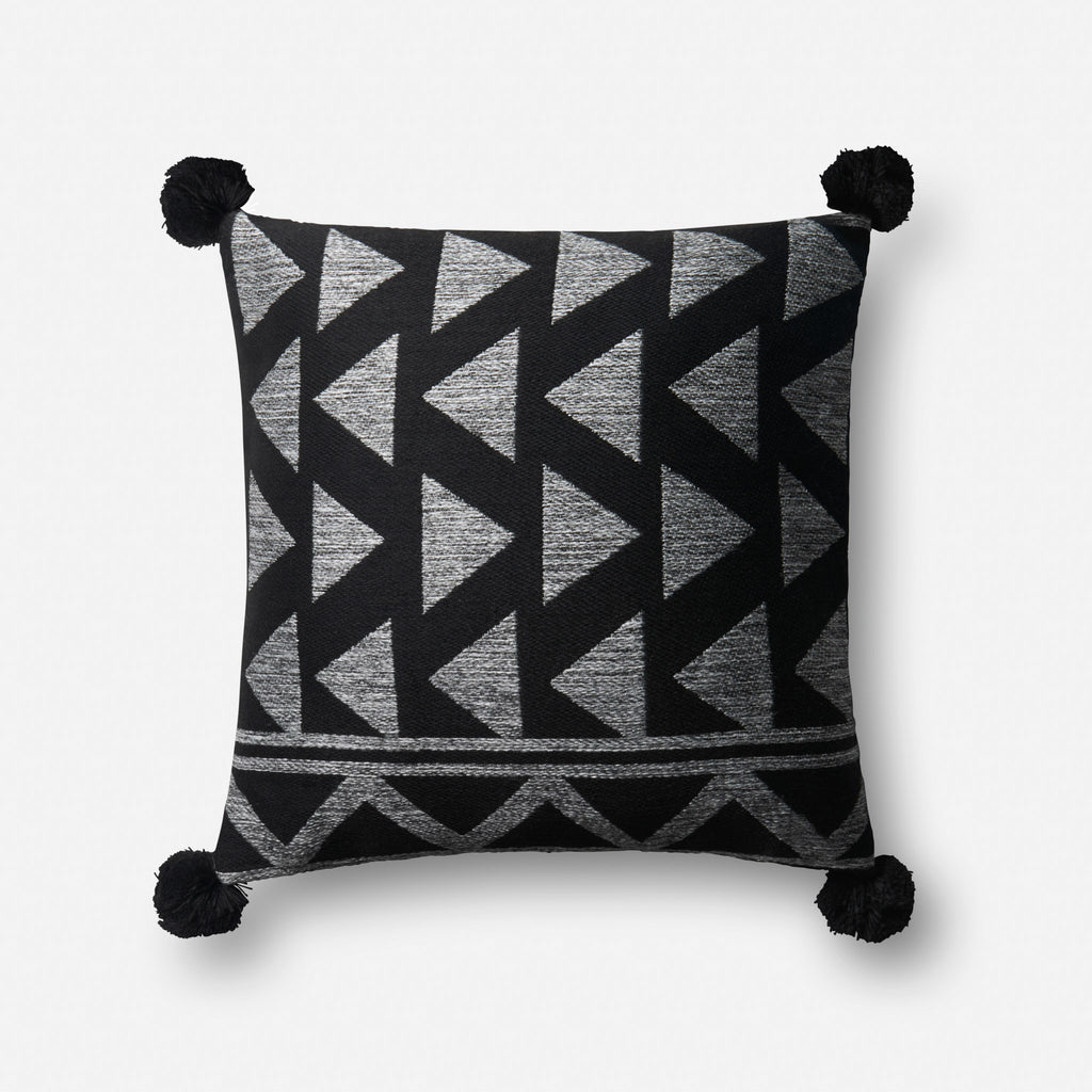 Arroyo - P0623 Black / White - Pillow - WORLD OF RUGS