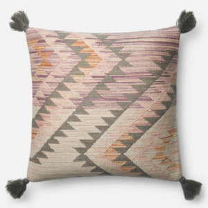 Arroyo - P0645 Pink / Multi - Pillow - WORLD OF RUGS