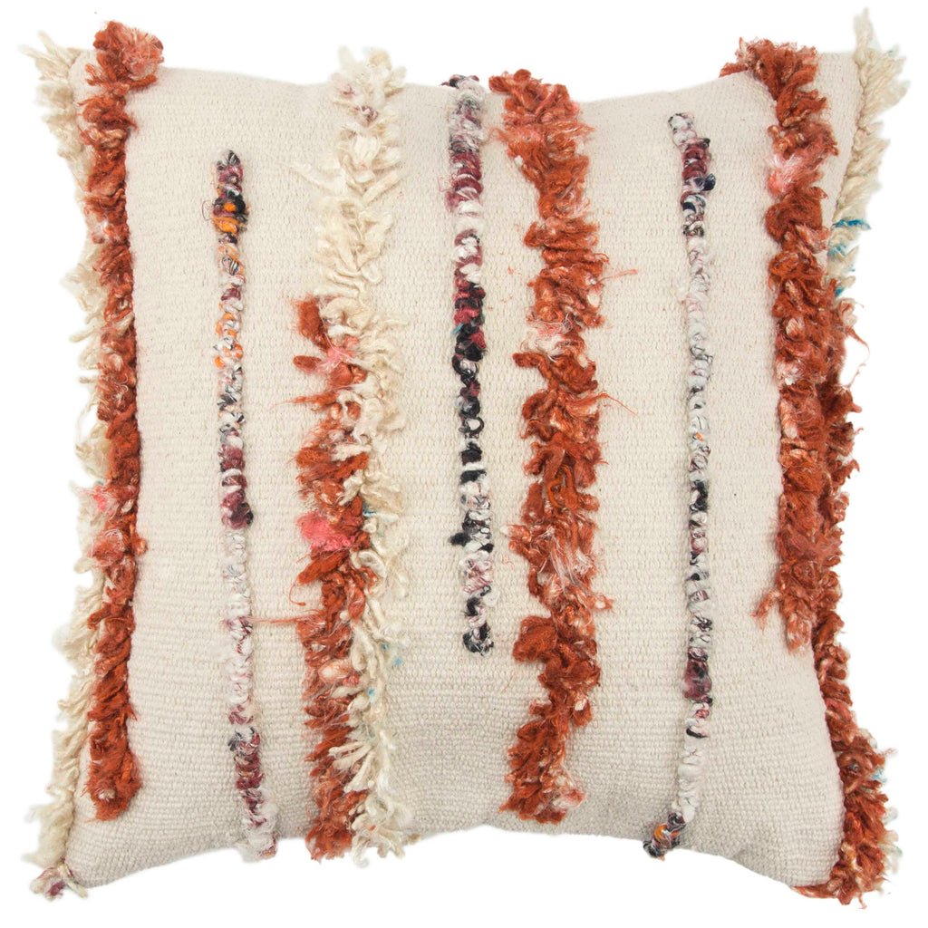 Carly - 13825 Rust - Pillow - WORLD OF RUGS