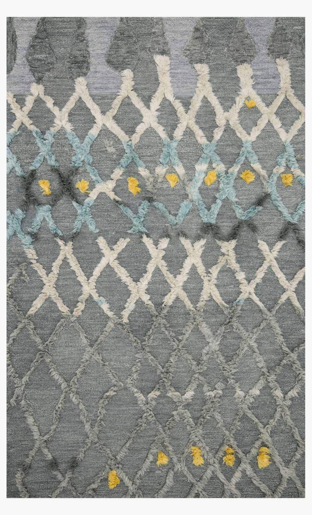 Nikka - 03 Grey / Multi - WORLD OF RUGS