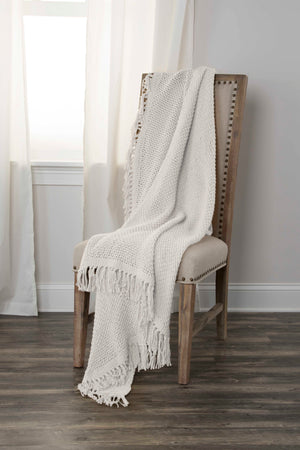Darcy - 0433 Ivory - Throw - WORLD OF RUGS