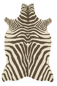 Wild Ones - 32 Brown / Ivory - WORLD OF RUGS