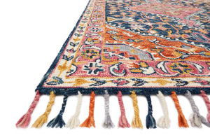 Daydream - 01 Navy / Multi - WORLD OF RUGS