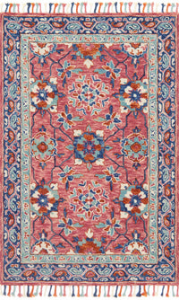 Daydream - 03 Rose / Denim - WORLD OF RUGS