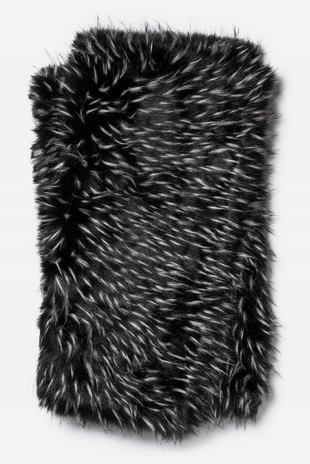 Plateau - T0005 Black / White - Throw - WORLD OF RUGS