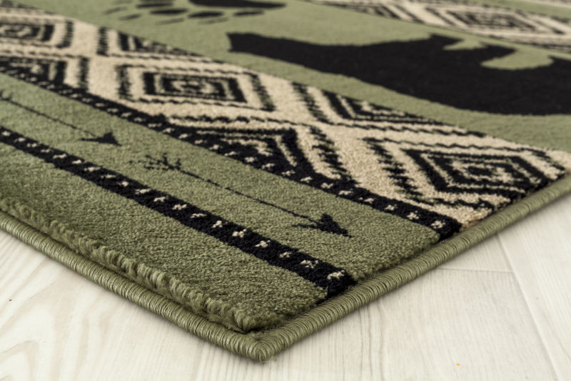 Forest - 15 Bear Green - WORLD OF RUGS