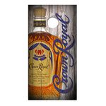 Crown Royal Cornhole Board Decals | Wraps | Best Sellers | Adult Beverages