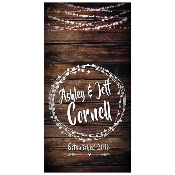 Combo Set Wedding lights Cornhole Custom Wedding Decals | Vinyl Decal Stickers | Customized Party Husband Wife | Wedding Inspired | Bag toss