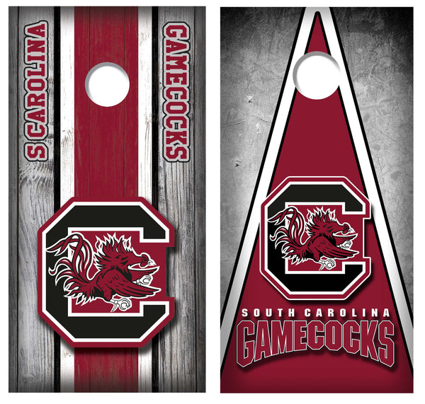 2 (TWO) Decals | Best Sellers | Custom Made Cornhole Decals | Gamecocks