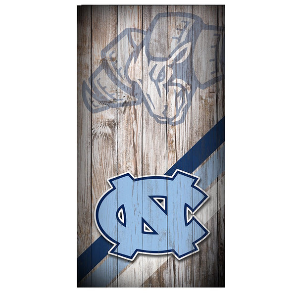 Best Sellers Custom Made Cornhole Bean Bag Toss DECAL - Tar Heels