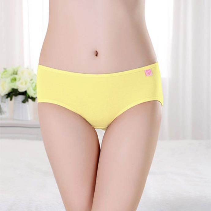 Women Cotton Briefs Panties Underpants Underwear Knickers GY L