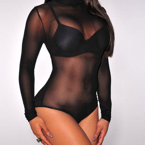 2017 Sexy Transparent Mousse Full Bodysuit Women Slim Bodies shapers Corset Hot Shapewear Panty Shaper For Women Black Teddy