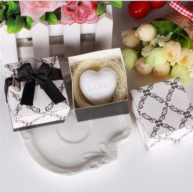 2017 Handmade Love Heart-shaped Design Bath Soap Wedding Party Love Gift Valentine Gi soap - 101 Soaps