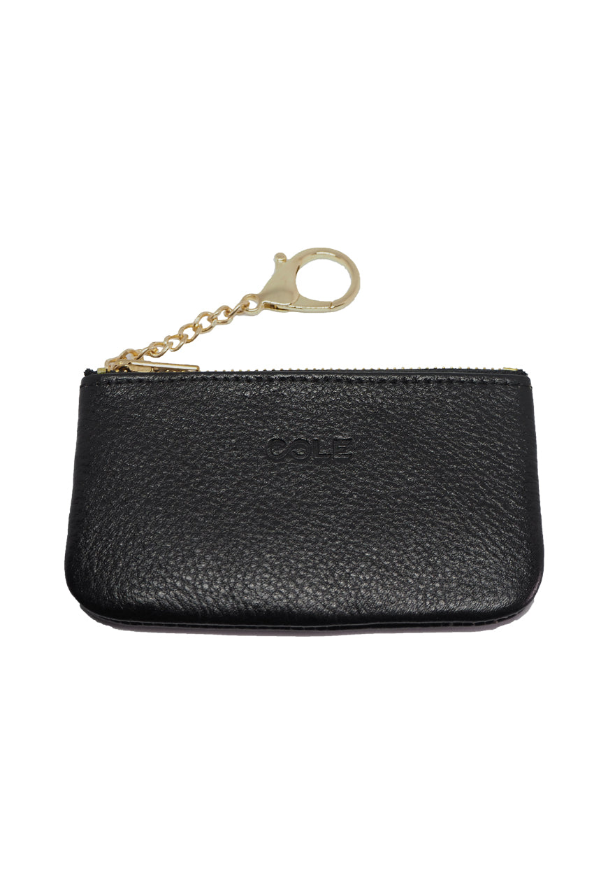 Simone Card & Coin Purse - Black