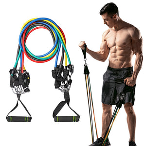 Resistance Bands For Exercise Body Training Workout Yoga