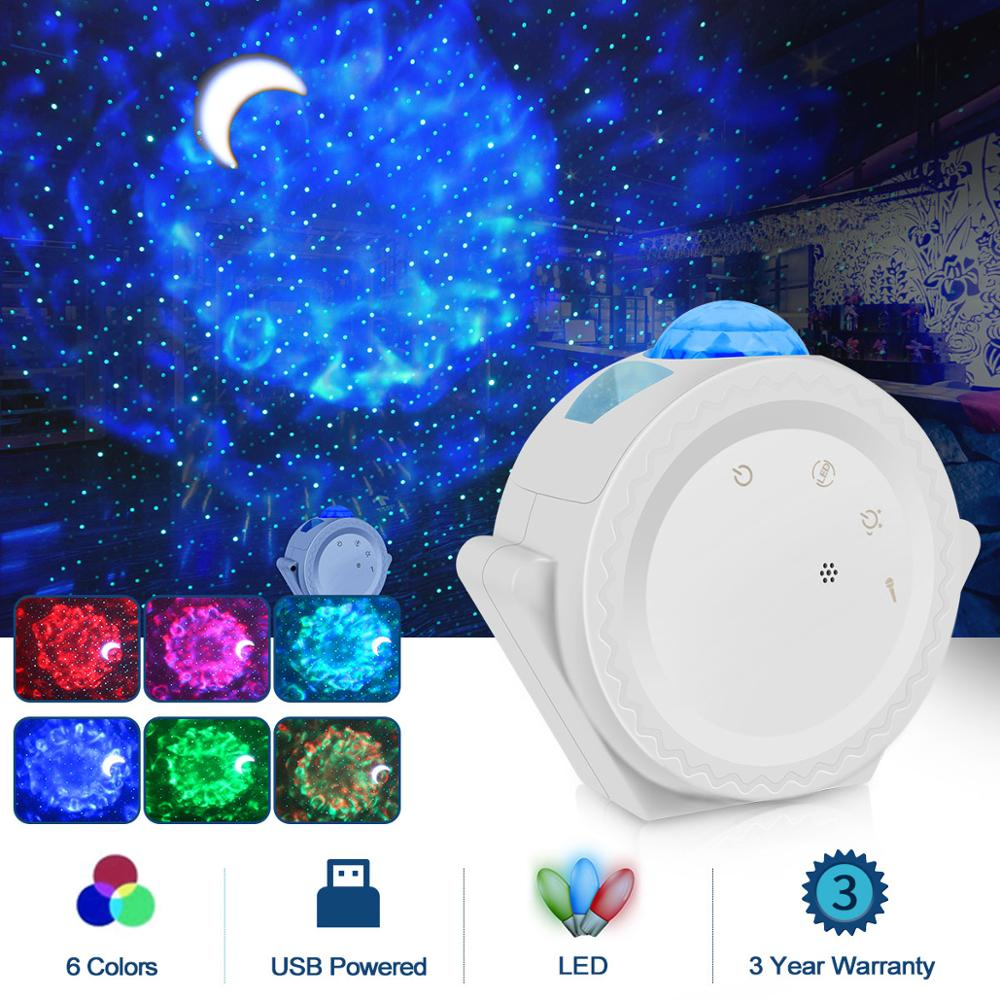 Galaxy Projector 3-in-1 Waving Lights 360 Degree Rotation - Inspired Uplift Store