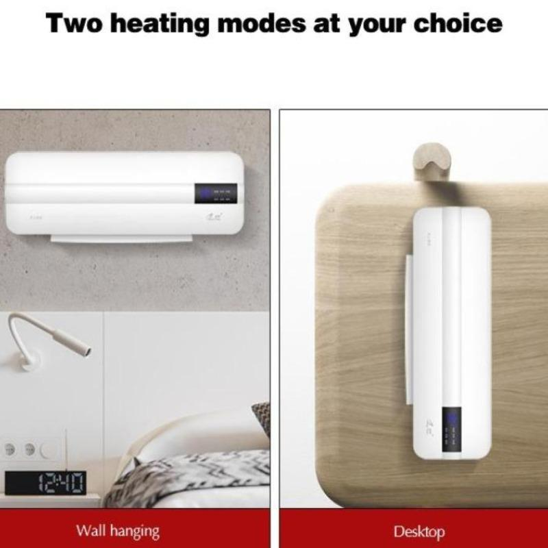 2 in 1 Electric Wall Mounted Air Conditioner Heater Fan - Inspired Uplift Store