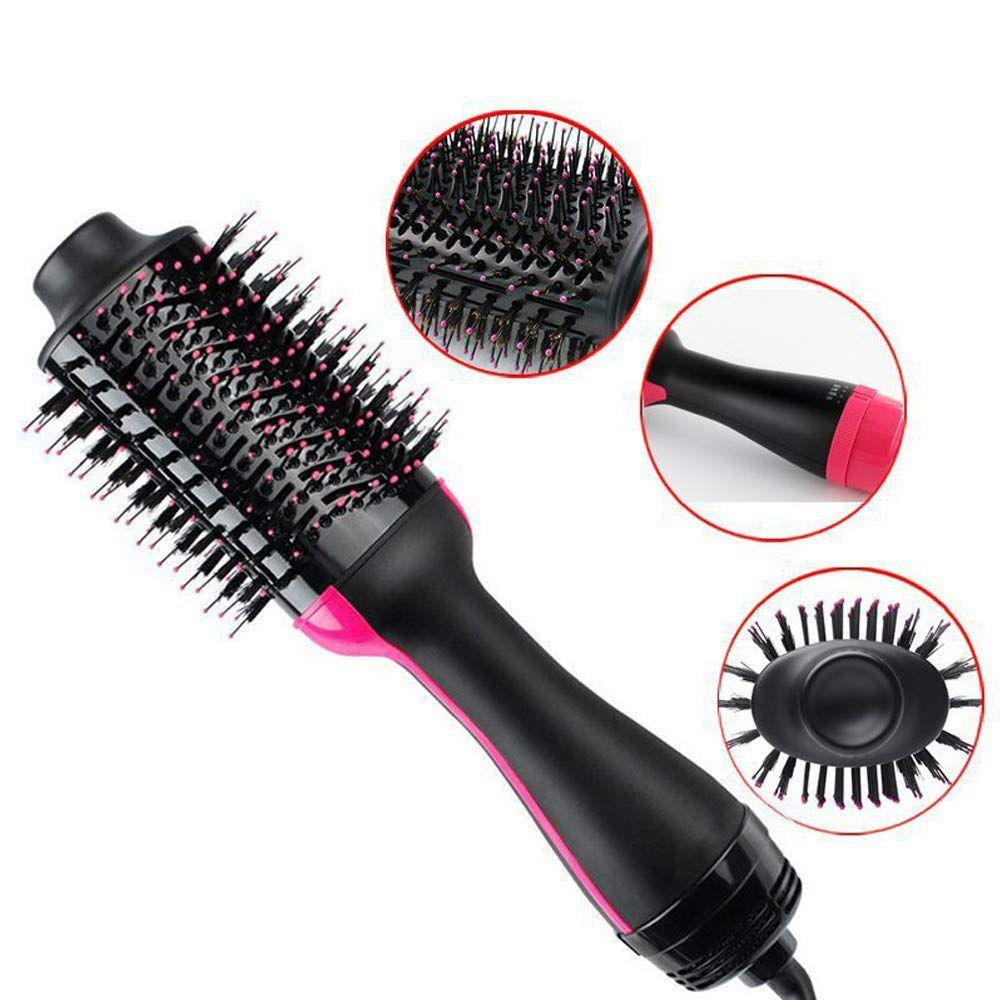 HAIR DRYER PADDLE STYLING BRUSH HAIR STRAIGHTEN - Inspired Uplift Store