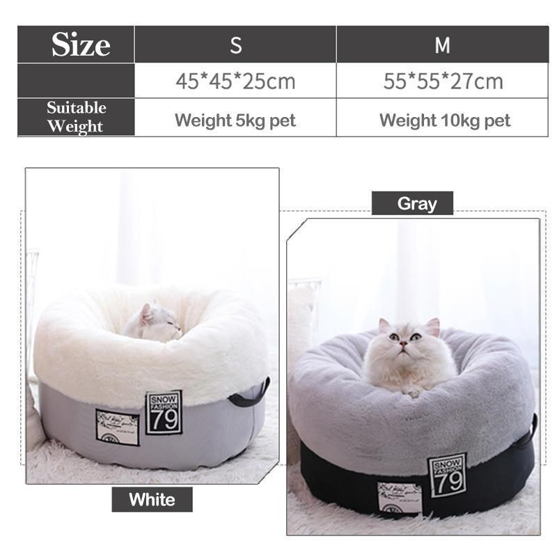 Cozy Pet Bed for Cat and Dog - Inspired Uplift Store