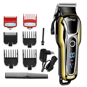 Professional hair trimmer for men beard hair cutting cordless corded