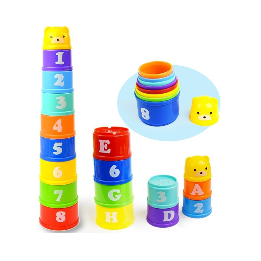 Baby Toys Stacking Cups Towers - Inspired Uplift Store