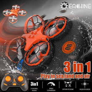 Shadow® 3-in-1 Land, Air, & Water Drone - Inspired Uplift Store