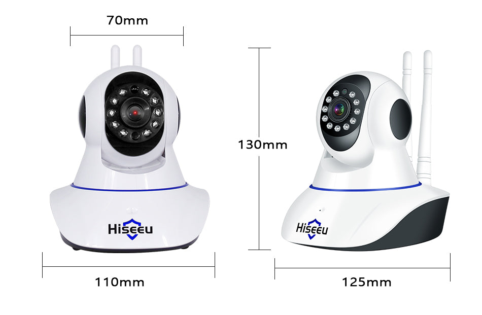 Wireless Home Security Camera Surveillance Camera Wifi Night Vision CCTV Camera Baby Monitor - Inspired Uplift Store